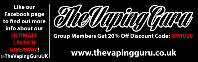 The Vaping Guru Group Page Cover Photo